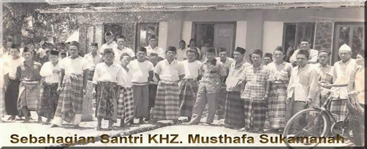 Santri KH Zainal Mustafa