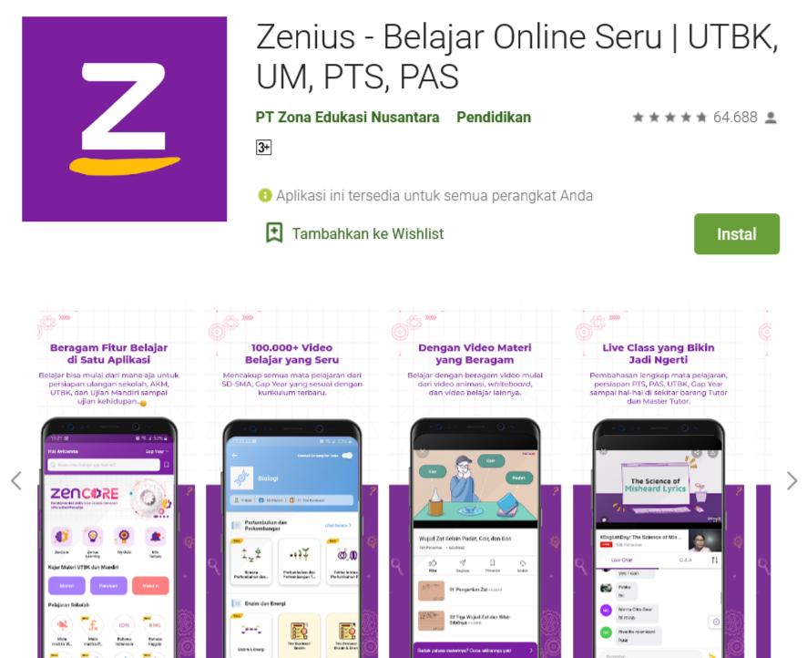 Download aplikasi ZenCore